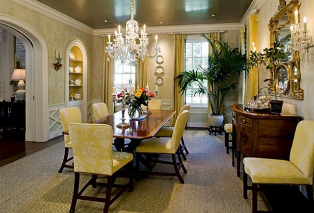 beautiful dining room interior spaces pinterest