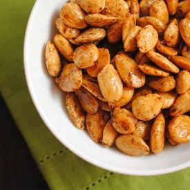 Marcona Almonds with Smoked Paprika - a perfect salty, smoky party ...