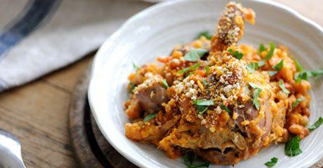 Duck cassoulet | Marvellous Meat, Poultry and Sea Food | Pinterest