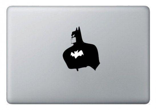 Mac laptop stickers batman batman decals macbook stickers