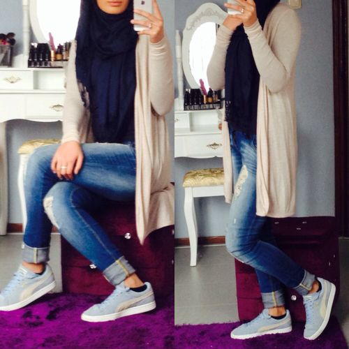 Casual Hijab Clothing My Style Pinterest