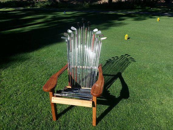 Adirondack golf chair
