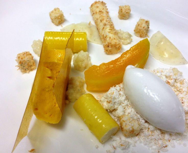 Mango Parfait, coconut sorbet, mango gel | Recipes I'd love to try ...