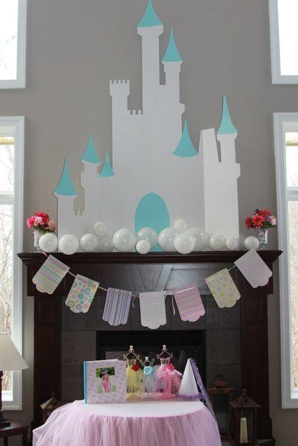 decoracion de cumpleaños castillo