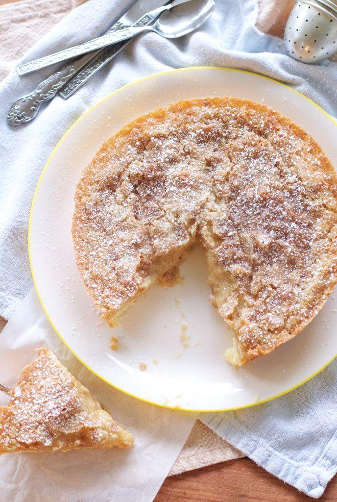 Cinnamon Maple Gooey Butter Cake | Baking Obsession | Pinterest