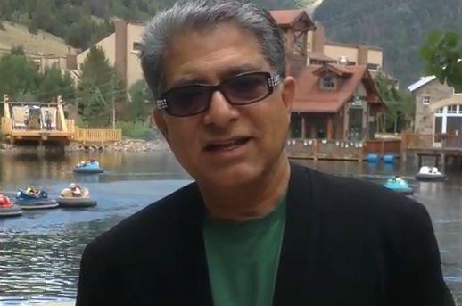 Deepak Chopra Talks About the Higgs Boson at Wanderlust Festival