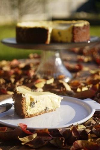 Rum & Raisin Baked Cheesecake