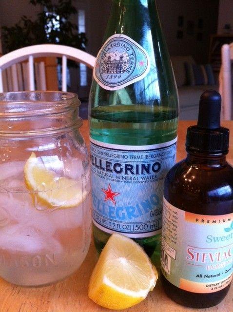 sparkling lemonade   Recipes - Beverages   Pinterest