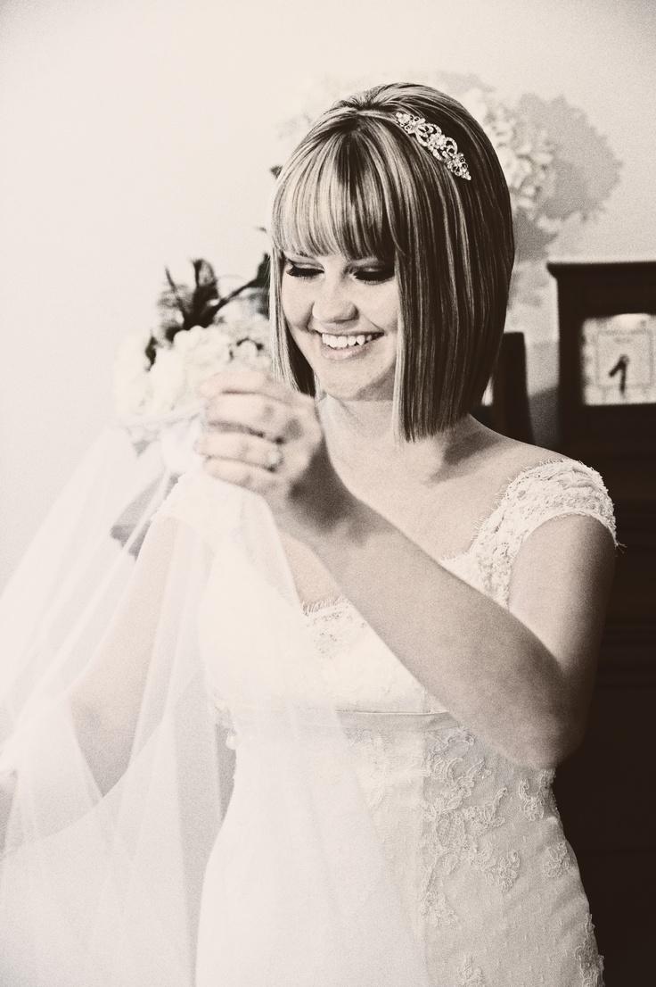 Art deco bob wedding hairstyle | wedding | Pinterest