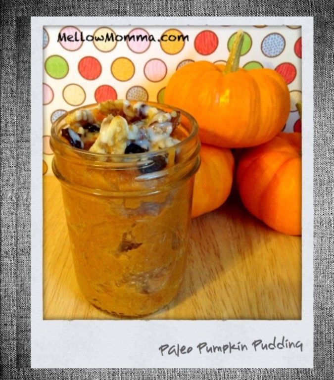 Pumpkin Pudding BDG: Ingredients 1 ripe banana 1/2 cup 100% canned or ...