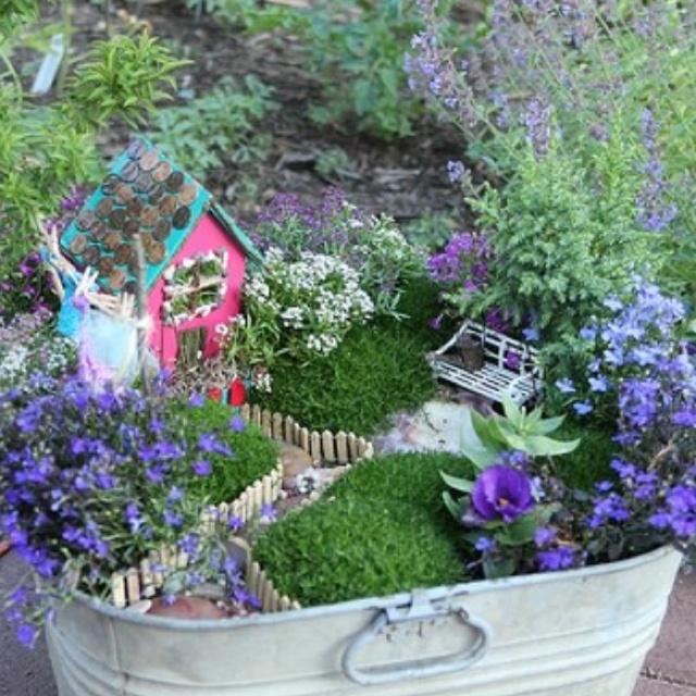 Diy Fairy Garden Gardens And Gardening Pinterest 400 x 300