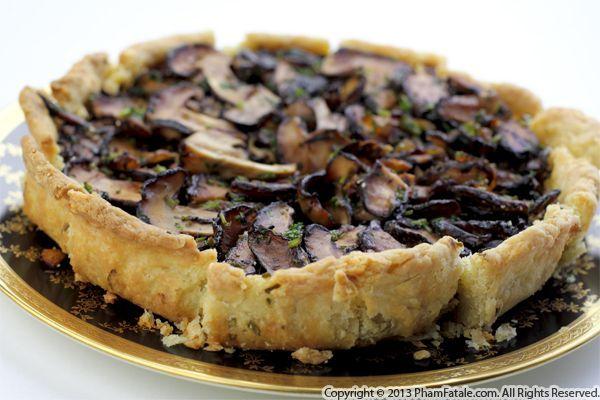 Asian-inspired Mushroom Tart Recipe | Dinner | Pinterest