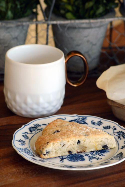 meyer lemon & dried blueberry scones | breakfast/brunch goodness | Pi ...