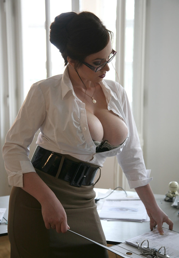 hot brunette office secretary. Black Bedroom Furniture Sets. Home Design Ideas