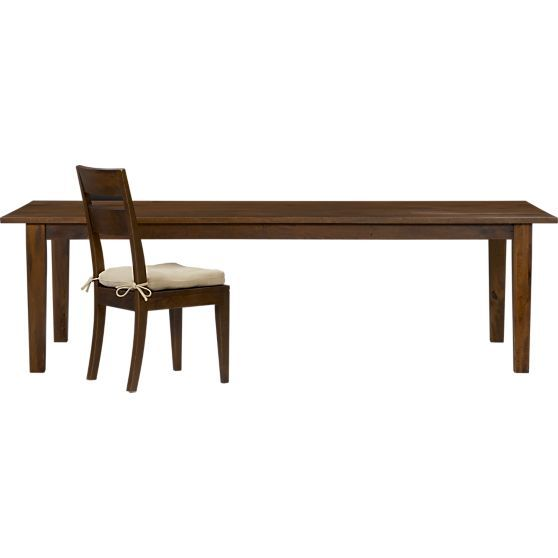 Dining Table Basque Dining Table Crate And Barrel