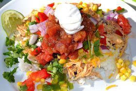 Fiesta Lime Rice Bowls | Deliciousness | Pinterest