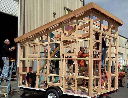 Shed roof tiny house on wheels tuff shed at home depot for Shed roof tiny house