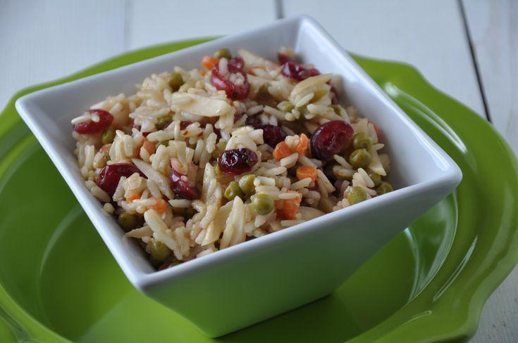 Cranberry Almond Rice Pilaf | Food - Crockpot | Pinterest