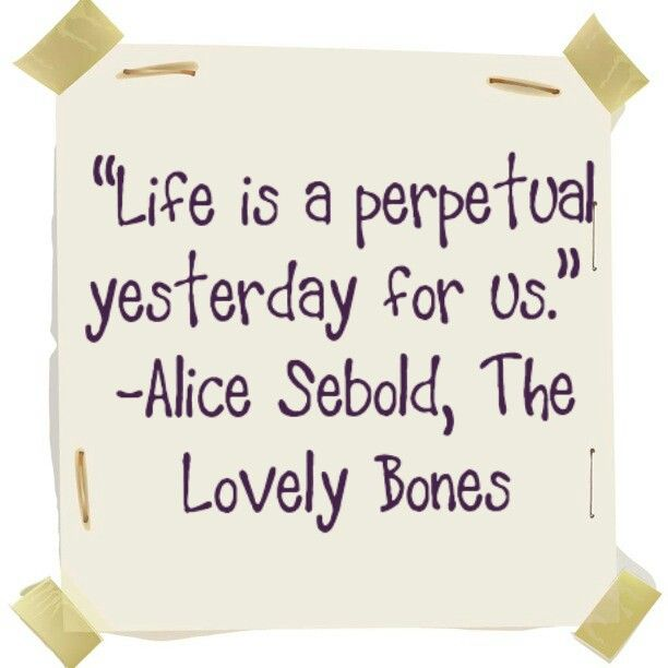 quote analysis from sebolds the lovely bones Popular quotes from the lovely bones book, analysis of the lovely bones  by  alice sebold  find quotes from this novel, with commentary from shmoop.