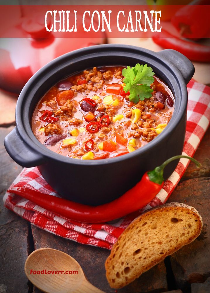 Classic Chili Con Carne | Recipes, Food, Drink and Cooking Info | Pin ...