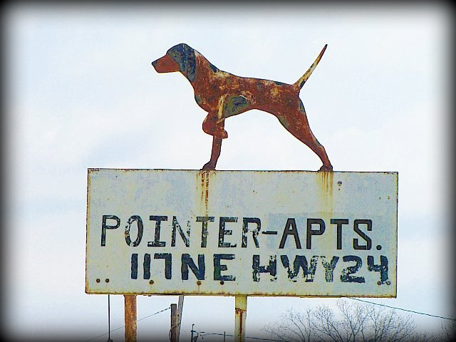 The Pointer Motel on US24  in north Topeka, Kansas