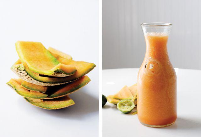 Melon Agua Fresca | Food ~ Cool Summer Drinks | Pinterest