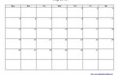 free 2013 printable calendar - Bing Images