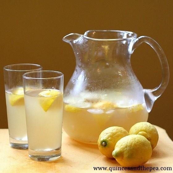 Rosewater Lemonade | Recipes - Non-alchoholic drinks | Pinterest
