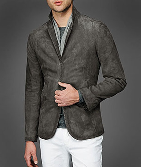 John Varvatos Slim Fit Leather Jacket | Guys' leather jackets | Pinte