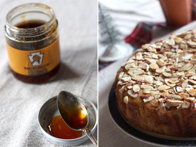 Honey and Honey Cake | *famished* | Pinterest