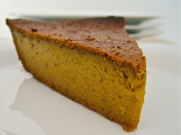 Gluten Free Crustless Blender Pumpkin Pie