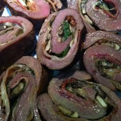 Rolled Flank Steak Allrecipes.com - these look like they take a lot ...