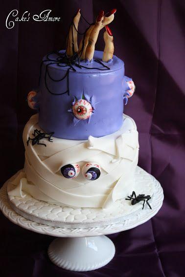 halloween cake for Alyssa's birthday