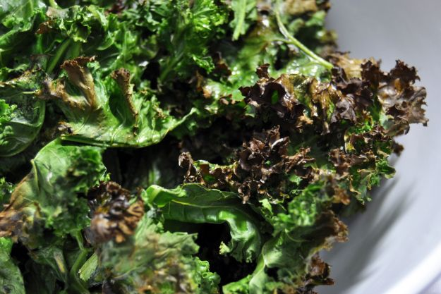 Baked Kale Chips | Healthy Recipes | Pinterest