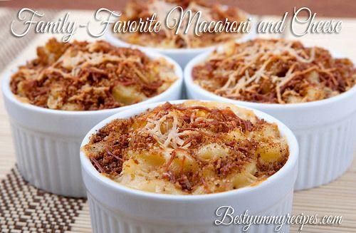 Family-Favorite Macaroni and Cheese by Thinkarete, via Flickr