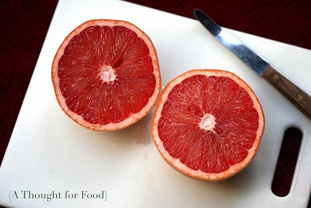 Broiled Grapefruit with Ginger and Brown Sugar