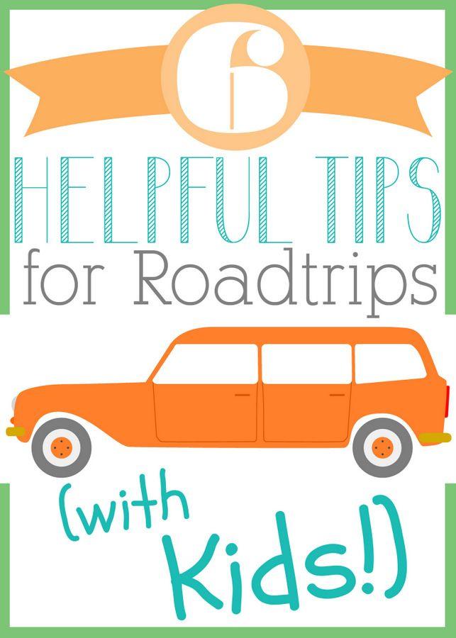 6 Helpful Tips for Roadtrips with Kids #HPFamilyTime