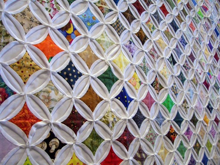 cathedral windows quilt pattern Quilt Ideas & Patterns Pinterest