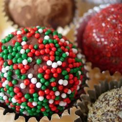 Easy Decadent Truffles - Holiday Cottage | Favorite Recipes | Pintere ...