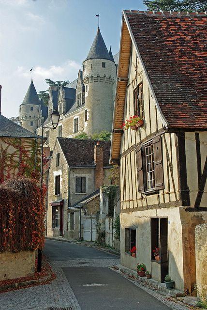 Road to Chateau Montrésor, France