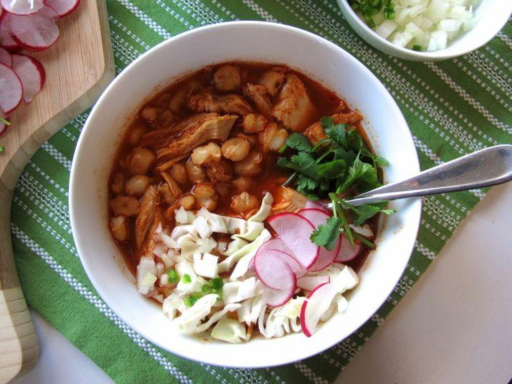 Chicken Pozole | delish | Pinterest