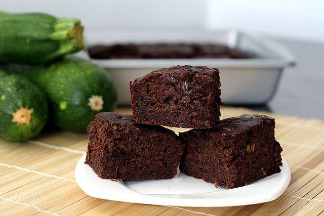 double chocolate zucchini brownies adashofsass fairly good brownies ...