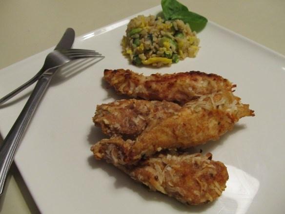 coconut chicken strips | Gluten free Meals | Pinterest