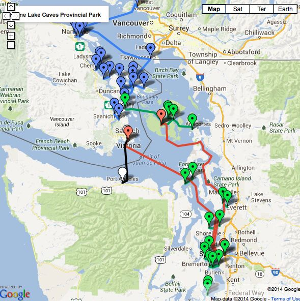 Seattle Ferry Map Related Keywords Amp Suggestions  Seattle
