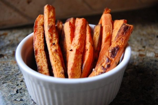 Oven Baked Sweet Potato Fries | Food | Pinterest