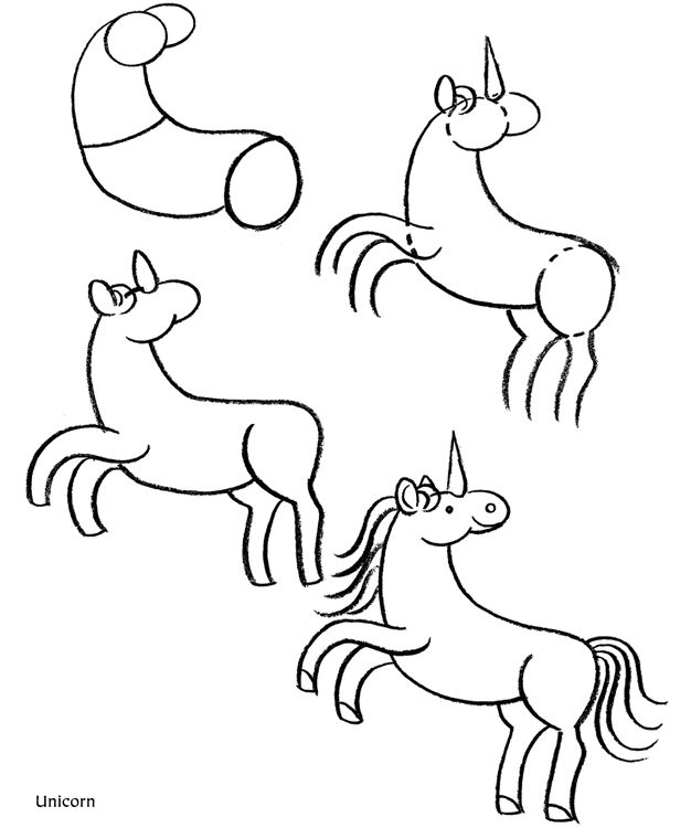 how to draw a horse | ...