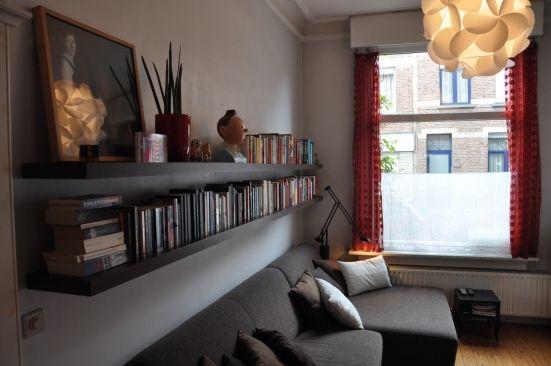 Een muur van boeken : Home : Pinterest