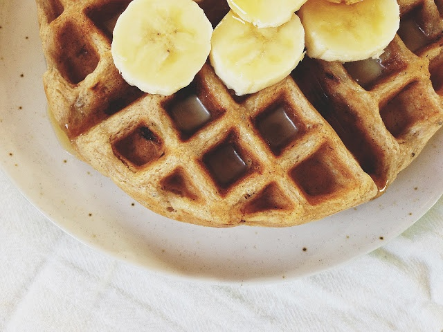 banana bread waffles... i want to add brown butter to the waffle ...