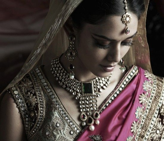 Jewelry from the Bridal Collection from Tanishq. #jewelry #india #indian #bridal #wedding #tanishq