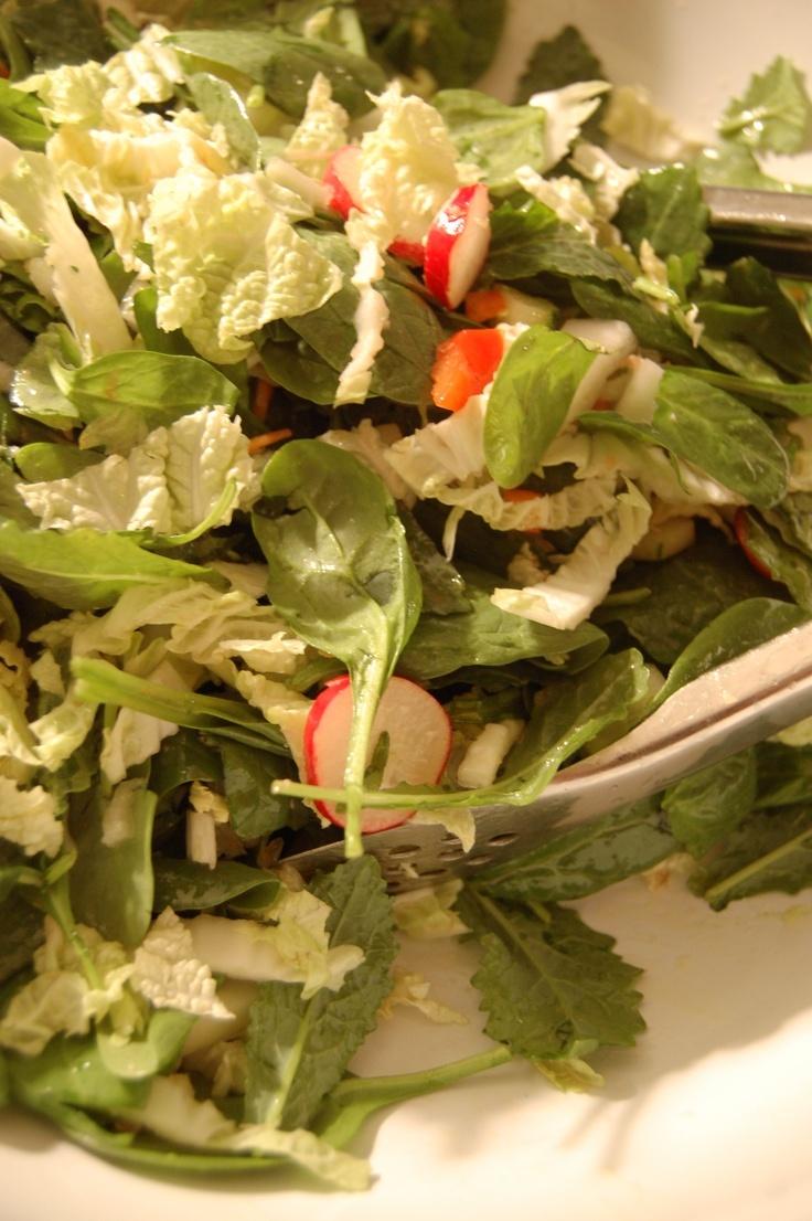 Simple Salad Dressing.